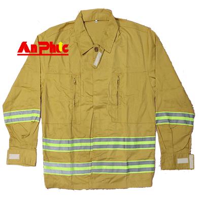 Áo chữa cháy mẫu số 1 theo thông tư 48 dùng cho lực lượng chữa cháy cơ sở
