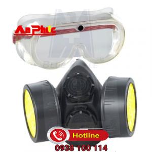 Bộ măt nạ và kính dùng phun thuốc trừ sâu NP306