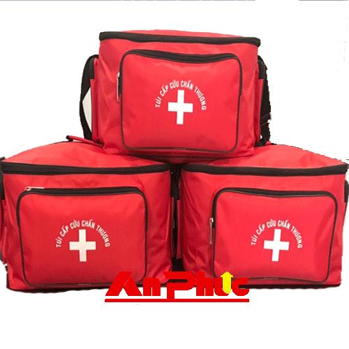 Túi Cứu Thương – Túi Cấp Cứu TT19 loại C – Màu đỏ