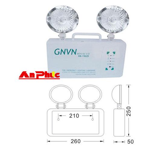 Đèn sự cố GNVN HW-118LED