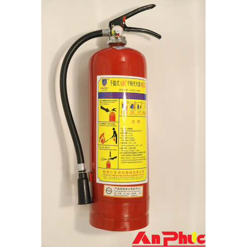 Bình chữa cháy bột BC 4kg TQ MFZ4
