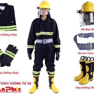 Quần áo chống cháy TT56 CHINA